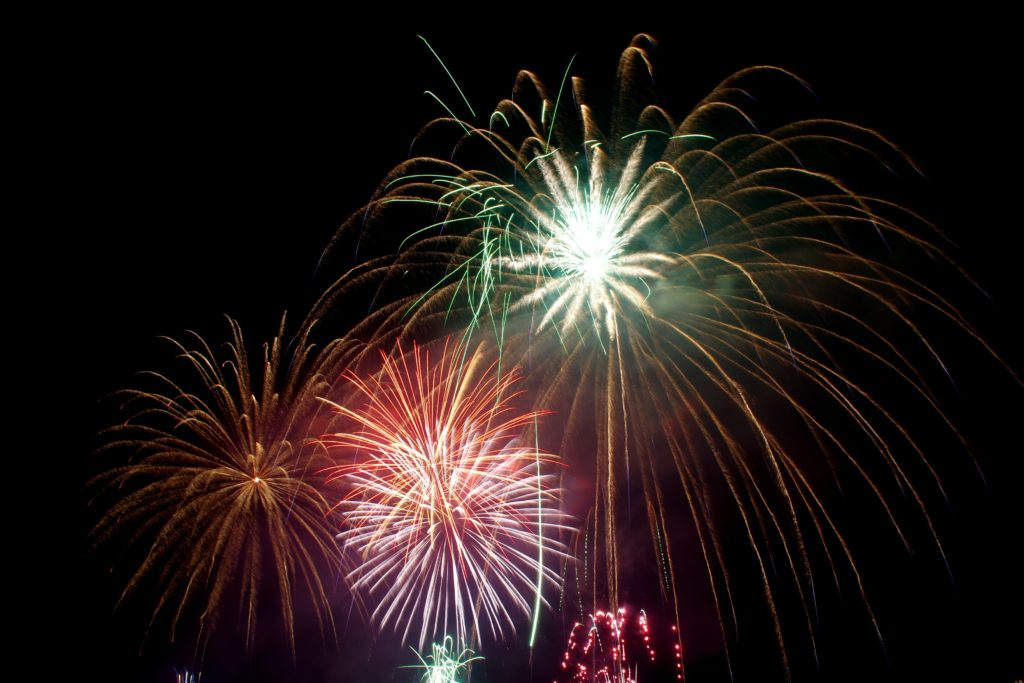 Image feux d'artifice