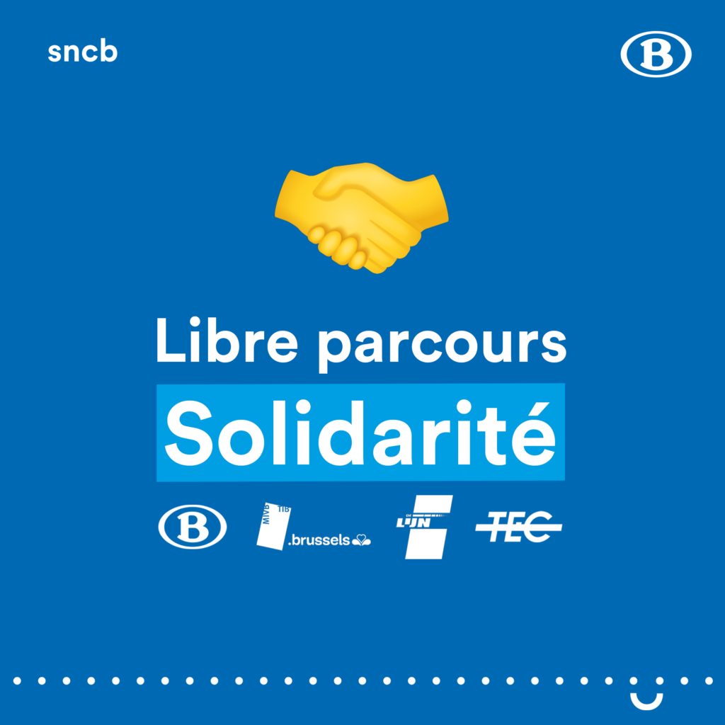 sncb  libre parcours solidarité