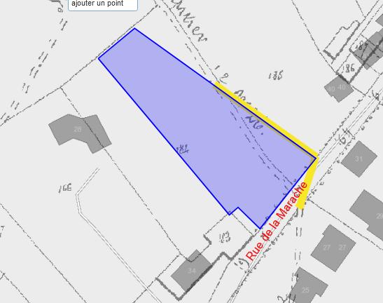avis enquête : Modification de voirie – Rue de la Marache à Luttre