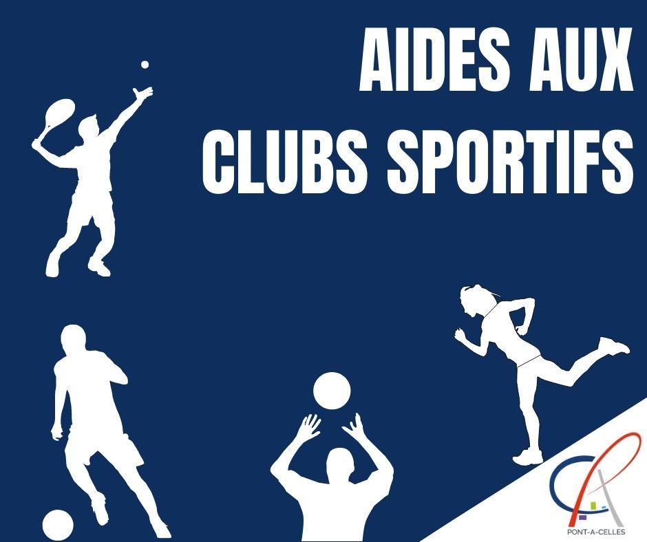 aides clubs sportifs
